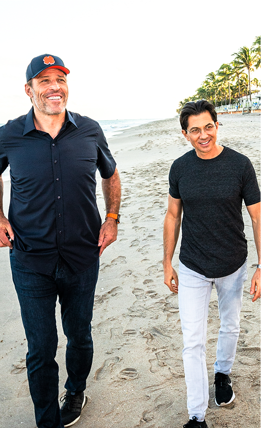 Tony Robbins and Dean Graziosi photo
